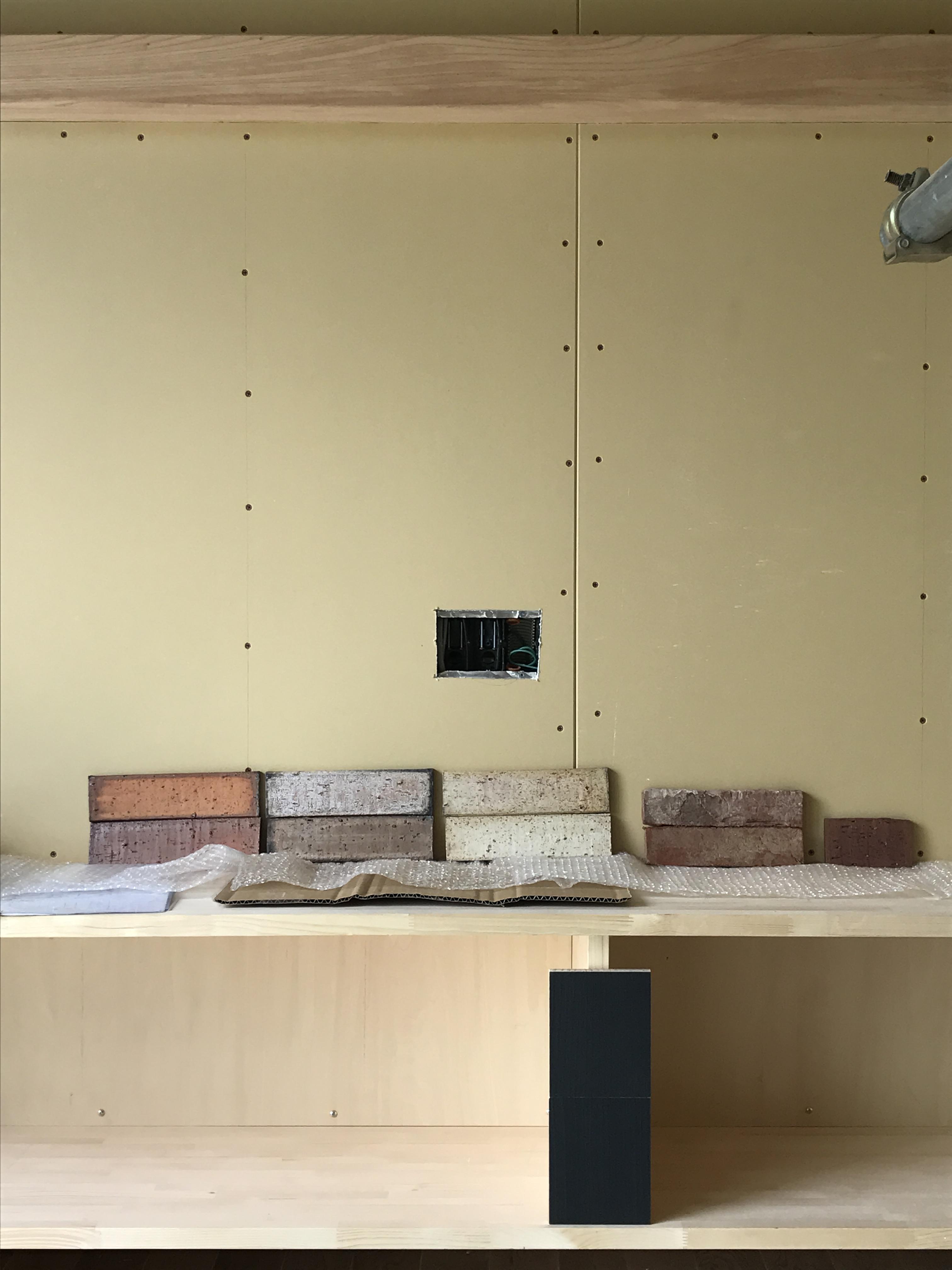 TV設置壁面