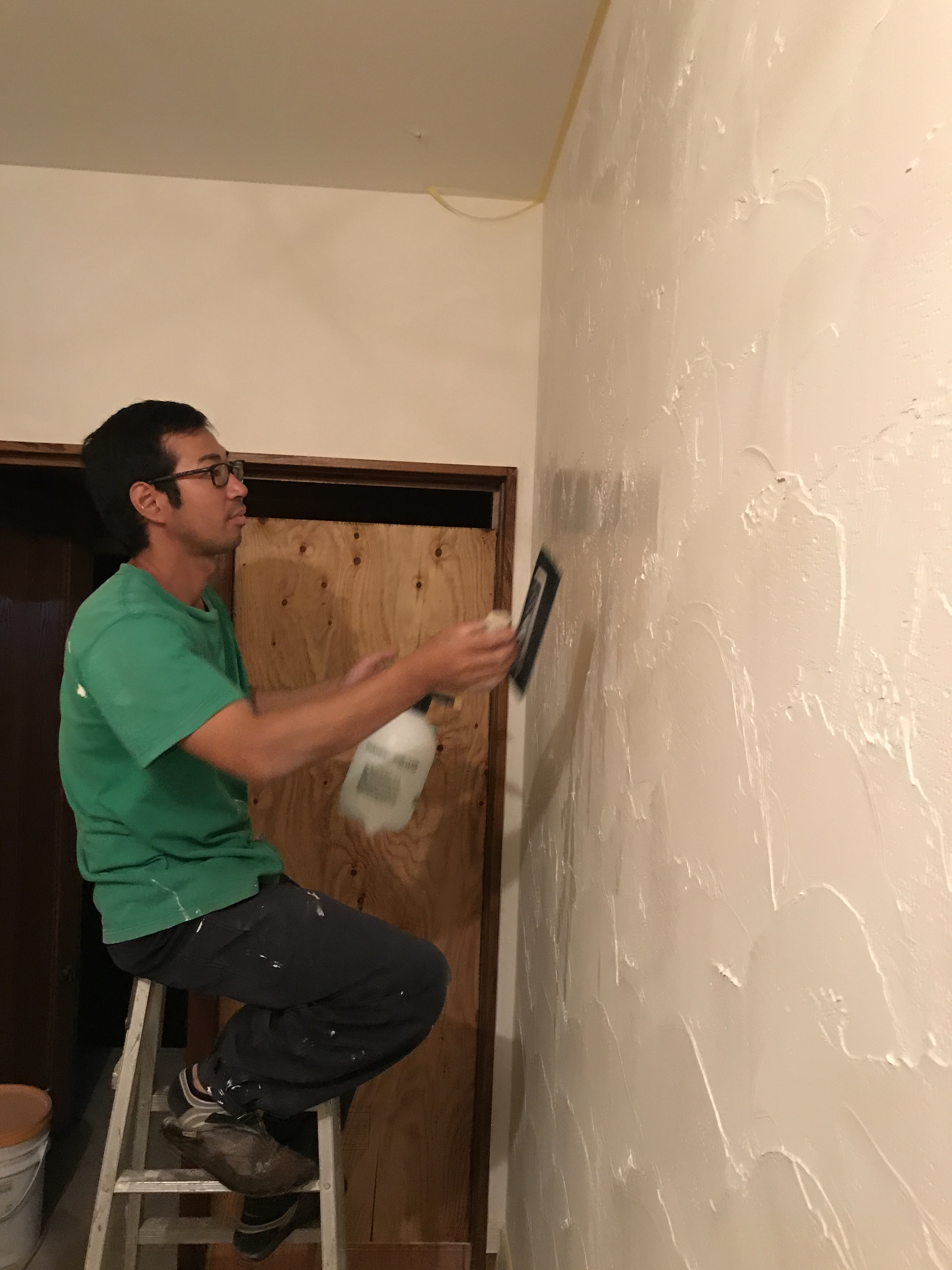 DIY左官工事