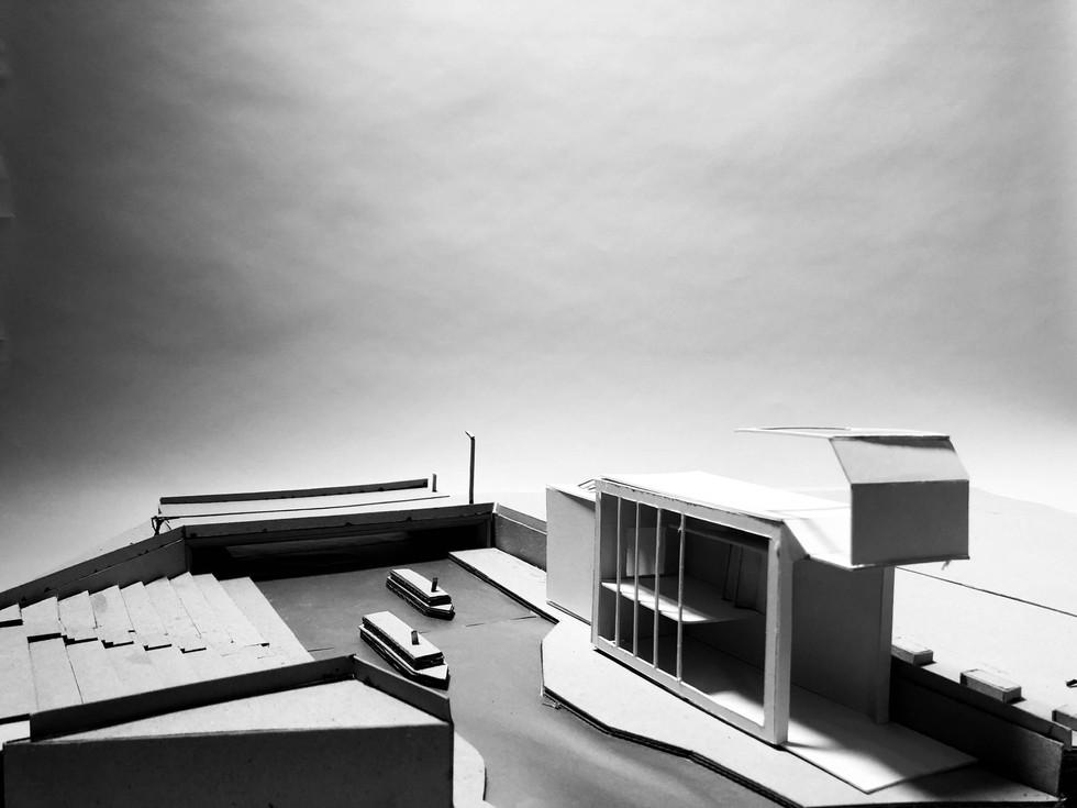 Art Studio near Goods Way Bridge, London (version 1) - 2019