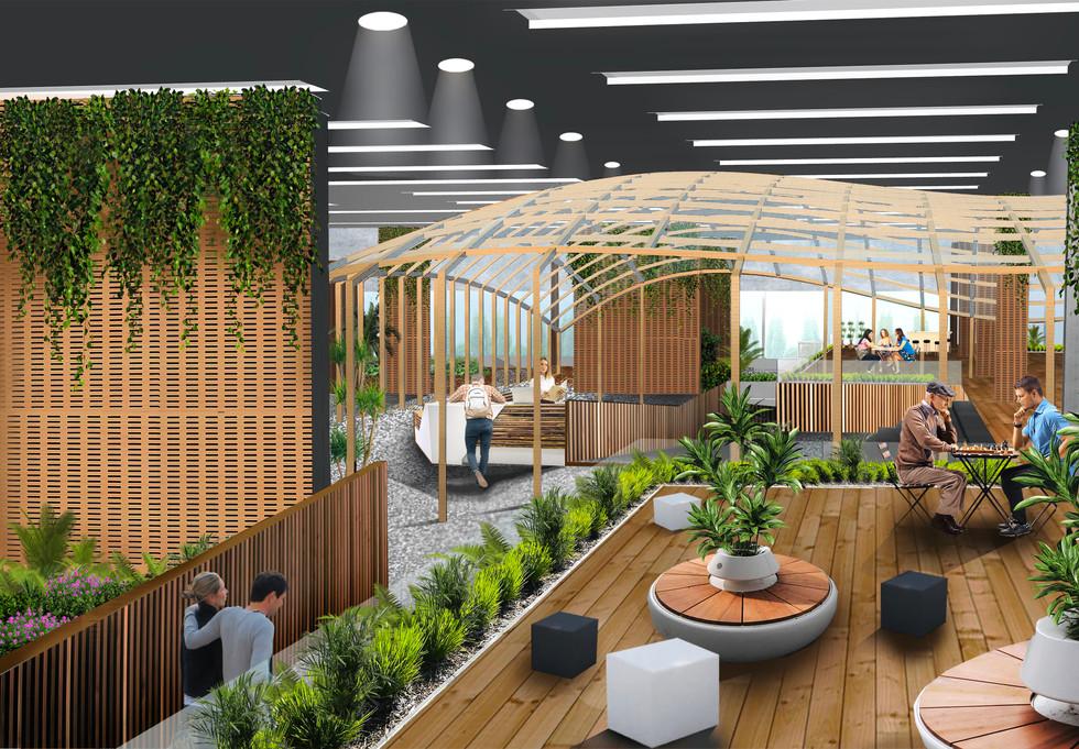 Biophilic Reception Space