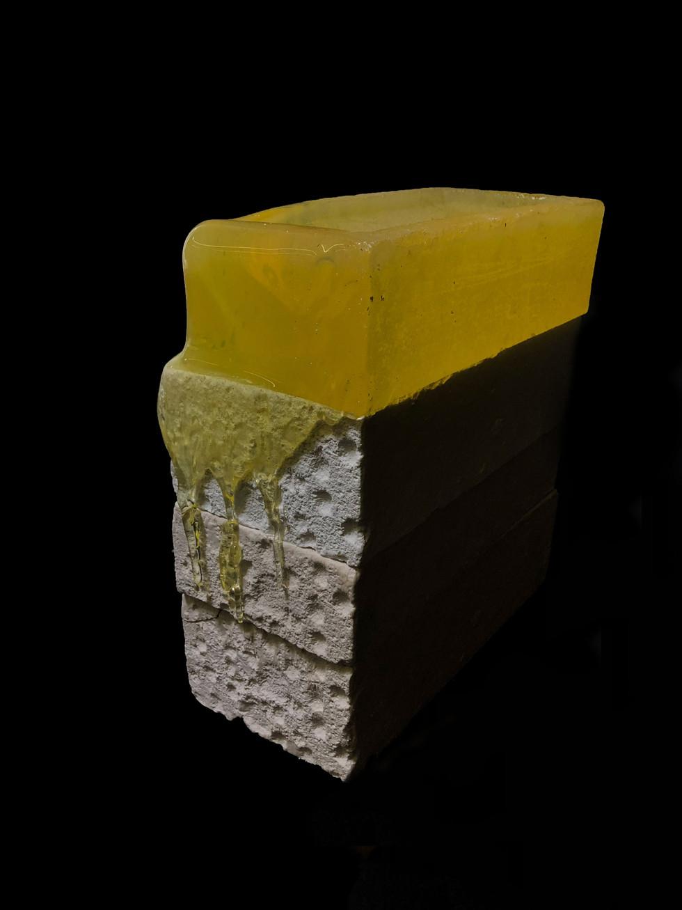 Melted brick 1 - 2019