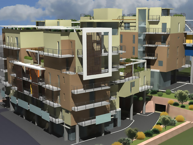 Edificio residenziale nuovo quartiere Palombare 13