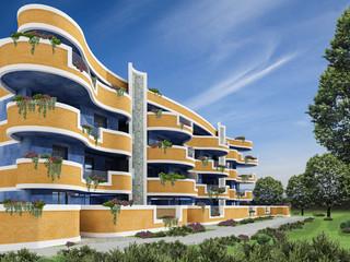 Quartiere residenziale a Pietralacroce