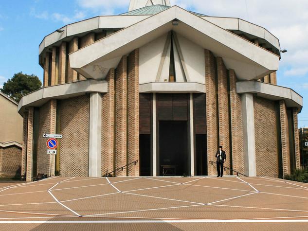 Progetto piazza del Santuario