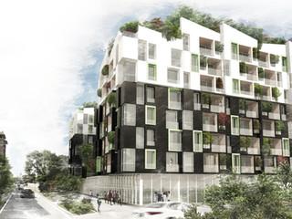 """Edificio per residenze """"Aree EX FALCK e scalo ferroviario"""""""