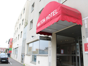 Le CHU Hôtel Milton  !