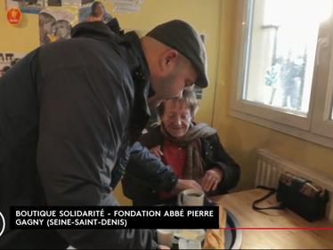 Thomas, Solange, et la Boutique Solidarité de Gagny
