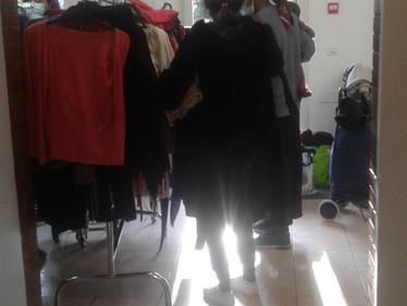 CAELI : le Vestiaire Solidaire de la Halte Sociale (25/11)