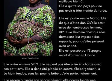 """""""Avec elles"""" : portraits de femmes hébergées à La Main Tendue"""