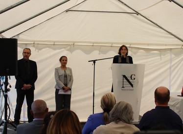 Discours prononcé par Jeanine Soulier, Présidente de l'association Hôtel social 93 lors de cette jou