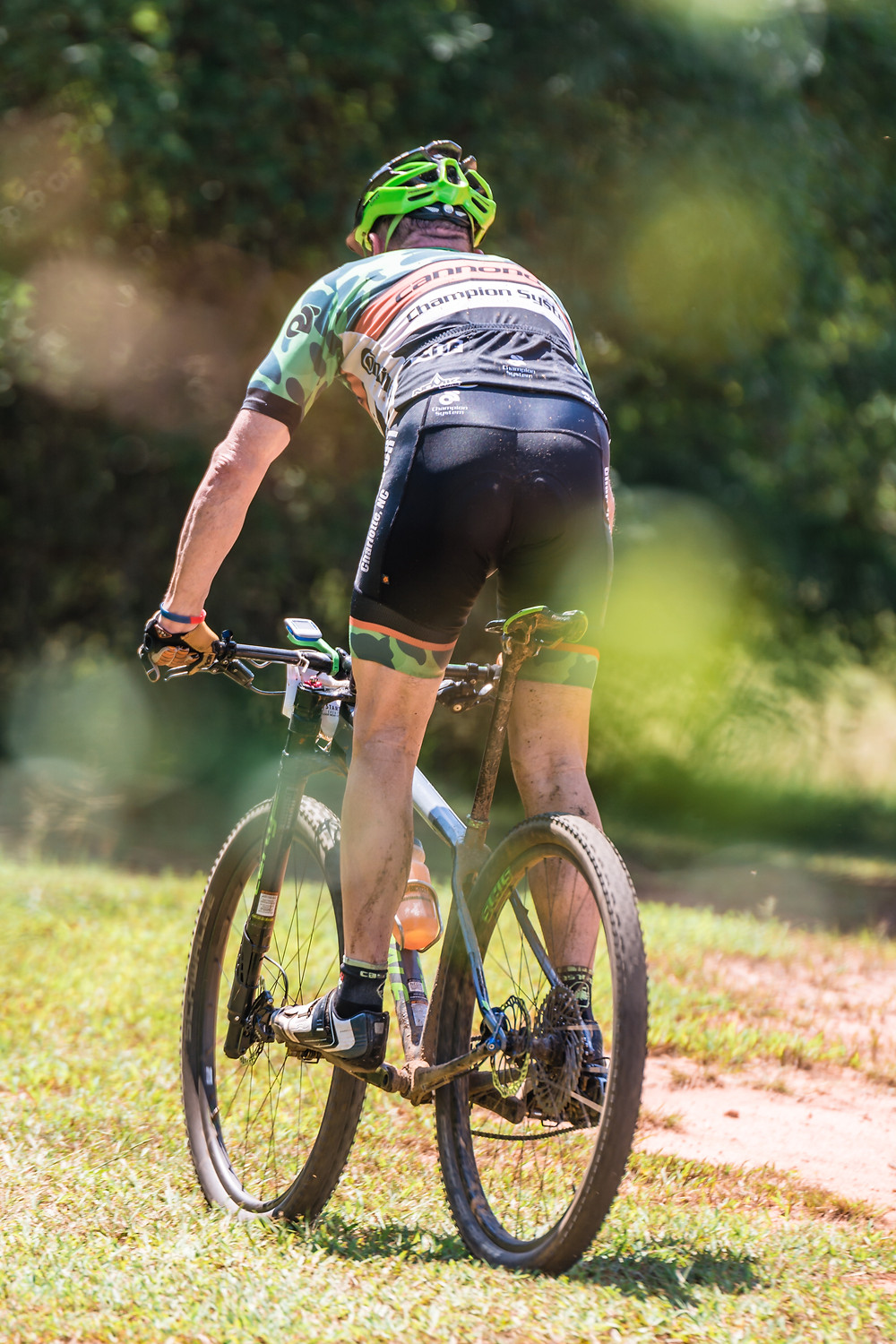 Tubeless tires for mountain bikers are better performance