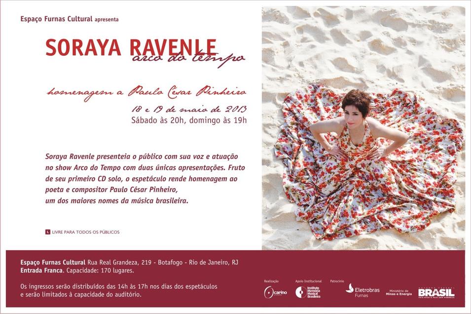 Show Arco do Tempo de Soraya Ravenle