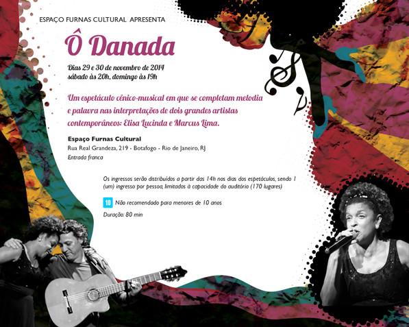 Show Ô Danada de Marcus Lima e Elisa Lucinda