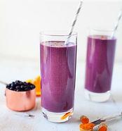 Wild Blueberry Turmeric Zinger Smoothie
