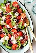 Heart Healthy Greek Salad