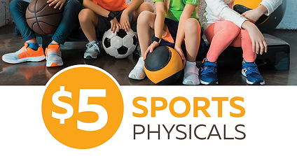 $5 Sports Physicals