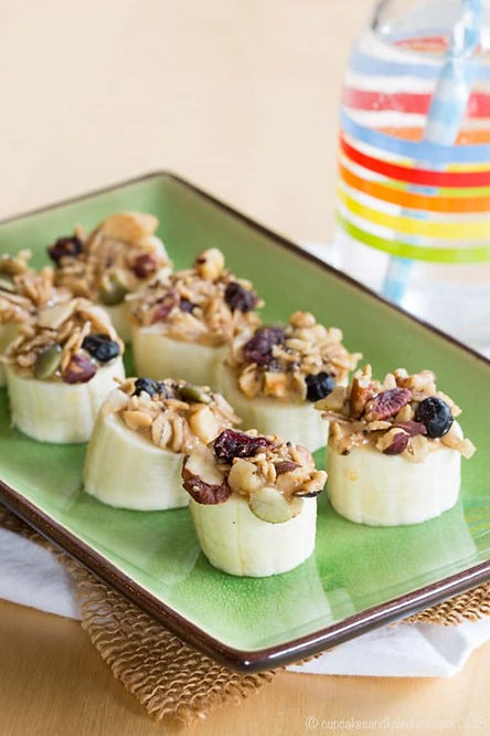 Easy Peanut Butter Banana Snacks