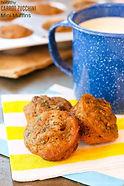 Healthy Mini Carrot Zucchini Muffins