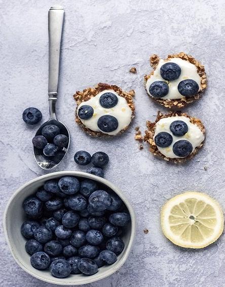 Blueberry-Lemon Tarts