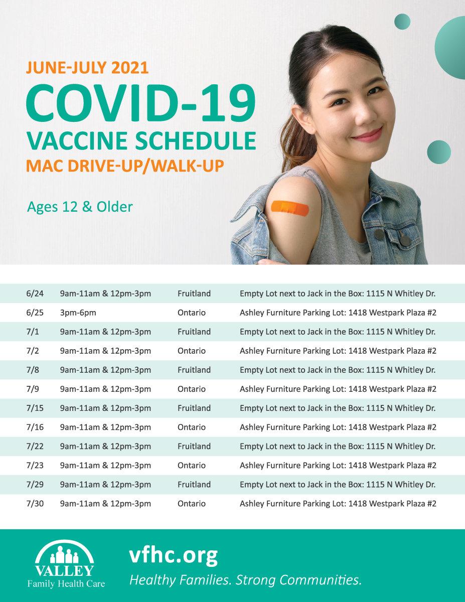VFHC_Covid-19-Vaccine_June-July-Schedule