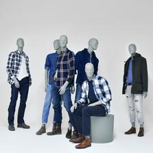 Bonami mannequins_Collection Hombres_male mannequin_different positions