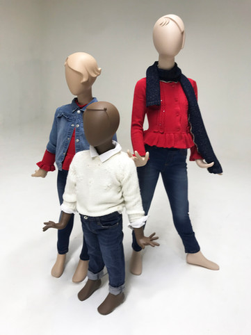 Bonami mannequins_Collection Glamaga kids_different heads