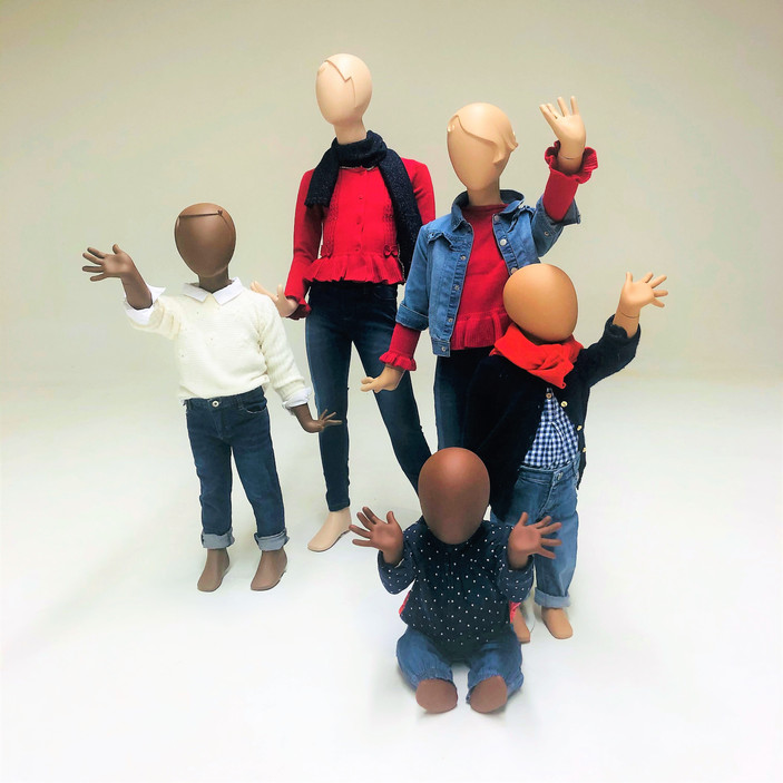 Bonami mannequins_Collection Glamaga kids_different ages
