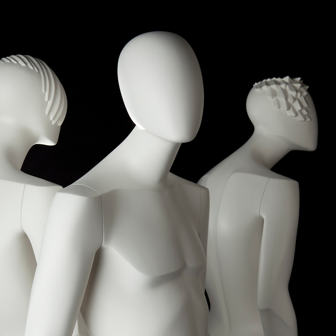 Bonami mannequins_Glamaga collection_male abstract mannequins_different heads