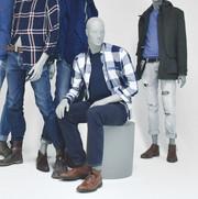 Bonami mannequins_Collection Hombres_male mannequin_seating