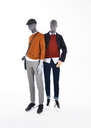 Bonami mannequins_Future collection_sustainable male mannequins covered with fabric_100% sustainble