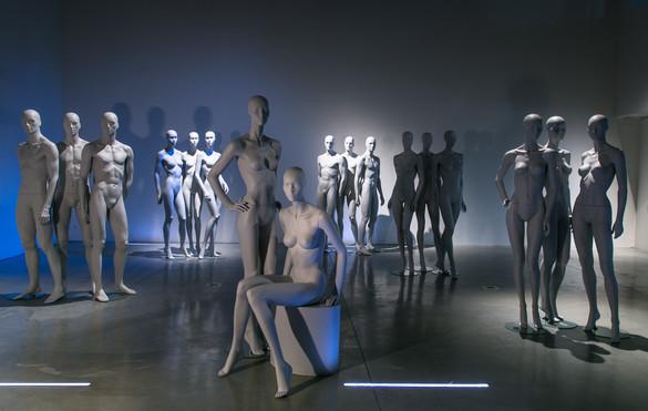 Showroom exposition Afinity homme et femme