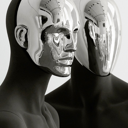 Bonami mannequins_Collection Affinity_male mannequin_detachable chrome head
