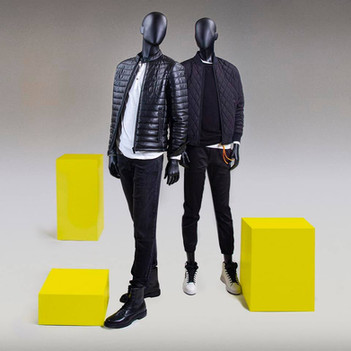 Bonami mannequins_Fashion King collection_men mannequin with abstract egg head