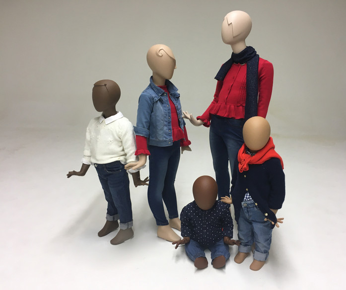 Bonami mannequins_Collection Glamaga kids_composition