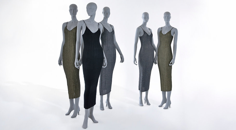 Sustainable windowmannequin made of sustainable material