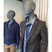 Bonami mannequins_Fashion King collection_ heren etalagepop met abstract hoofd en oren