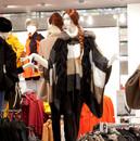 Bonami mannequins_Stylewalk collection_ Mannequin femme tête abstrac avec maquillage et perruque_shopwindow