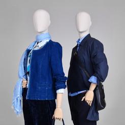 Bonami mannequins_Dames Simplicity collectie_bedekt met stof