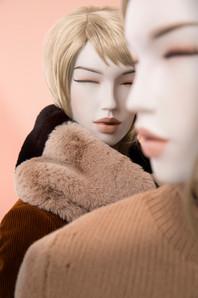 Bonami mannequins_Future mannequins_100% duurzame_afwerking geschilderd_make-up