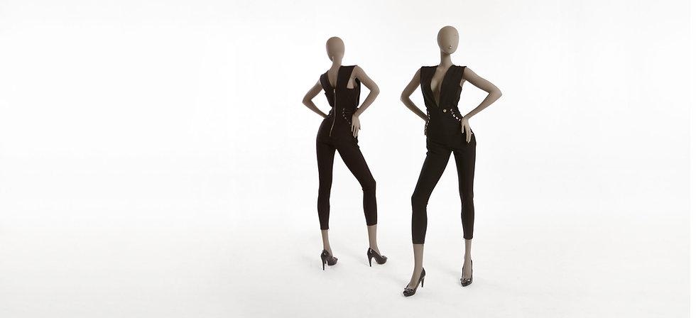 Full body female mannequin with elegant position
