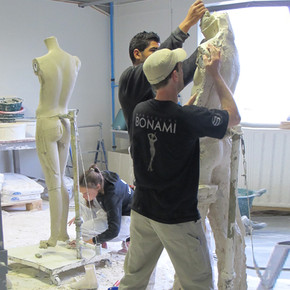 Prototype of a mannequin