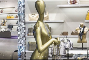Bonami mannequins_collection voyage_female mannequin for accessoiries_instore display