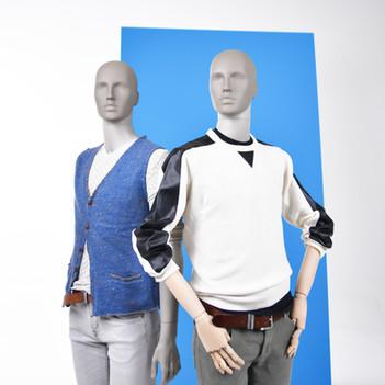 Men mannequin for fashion