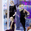 Bonami mannequins_Stylewalk collection_ Mannequin femme tête abstrac avec maquillage et perruque_windowdisplay