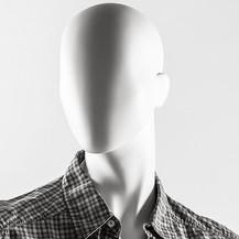 Bonami mannequins_Collection Hombres_mannequin homme avec tête d'oeuf