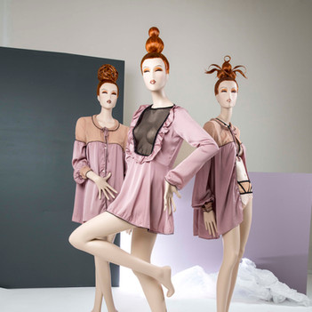 Bonami mannequins_Fashion Queen Phantasie_female mannequins with make-up and wig