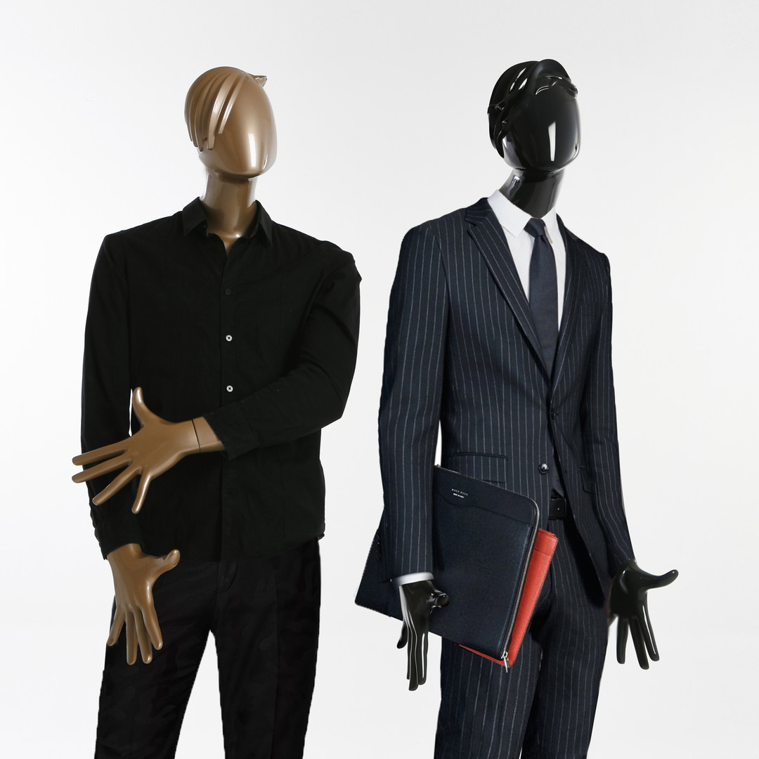 Bonami mannequins_Glamaga collection_male abstract mannequins