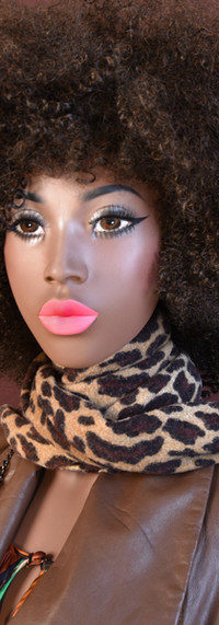 FEMALE MAKE-UP AND WIG
