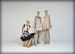 Bonami mannequins_Collection glamaga_abstract vrouwelijke etalagepop