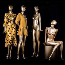 Glamaga-collectie in afwerkingskleur goud
